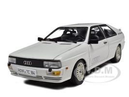 1981 Audi Quattro White 1/18 Diecast Model Car Sunstar 4155
