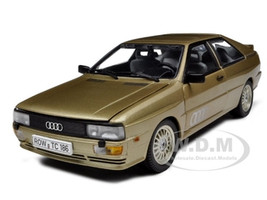 1981 Audi Quattro Colorado Beige 1/18 Diecast Car Model Sunstar 4157