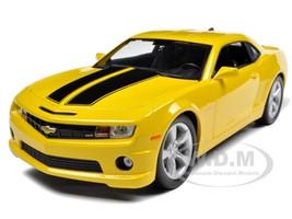 2010 Chevrolet Camaro SS RS Yellow 1/18 Diecast Model Car Maisto 31173