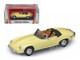 1971 Jaguar E Type Convertible Yellow 1/43 Diecast Model Car Road Signature 94244