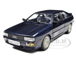 1981 Audi Quattro Blue 1/18 Diecast Car Model Sunstar 4156