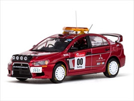 Mitsubishi Lancer Evolution X #00 Rally Japan 2007 Course Car 1/43 Diecast Model Car Vitesse 43440