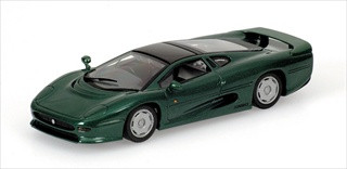 1991 Jaguar XJ  220 Metallic Green 1/43 Diecast Model Car by Minichamps