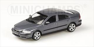 2003 Volvo S60R Grey Metallic 1/43 Diecast Model Car by Minichamps