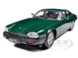 1975 Jaguar XJS Coupe Green 1/18 Diecast Car Model Road Signature 92658