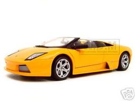 Lamborghini Murcielago Roadster Orange 1/18 Diecast Model Car Motormax 73169