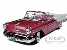 1957 Oldsmobile Super 88 Purple 1/18 Diecast Model Car Road Signature 92758