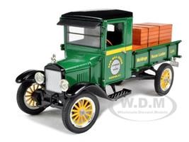 1923 Ford Model TT Lamber Truck Green 1/32 Diecast Model Car Signature Models 32385
