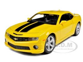 2010 Chevrolet Camaro RS SS Yellow 1/24 Diecast Model Car  Maisto 31207