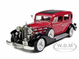 1933 Cadillac Series 355C V8 Red 1/32 Diecast Model Car Signature Models 32358