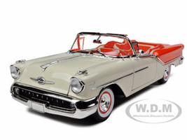 1957 Oldsmobile Super 88 Orange 1/18 Diecast Model Car Road Signature 92758