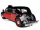 1938 Citroen 15 CV TA Black/Red 1/24 Diecast Car Model Bburago 22017