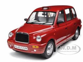 1998 TX1 London Taxi Cab Targa Red 1/18 Diecast Model Car Sunstar 1126