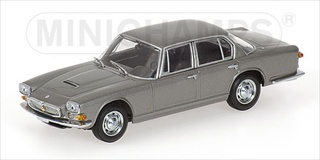1963 Maserati Quattroporte Grey 1/43 Diecast Car Model by Minichamps