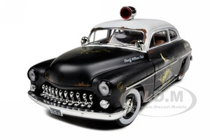 1949 Mercury Coupe Rat Rod Police 20th Anniversary of American Muscle Edition Limited Edition 1 of 700 Produced Worldwide 1/18 Diecast Model Car Autoworld AMM961