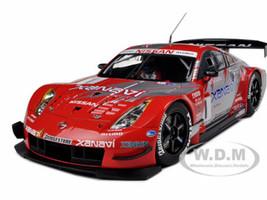Xanavi Nismo Nissan Z 2004 JGTC Team & Drivers Champion Special Edition (Satoshi Motoyama) #1 With Driver Figure 1/18 Diecast Model Car Autoart 80485