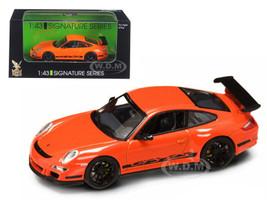 Porsche 911 997 GT3 RS Orange 1/43 Diecast Car Model Road Signature. 43204