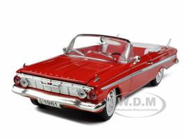 1961 Chevrolet Impala Red 1/32 Diecast Model Car Signature Models 32431