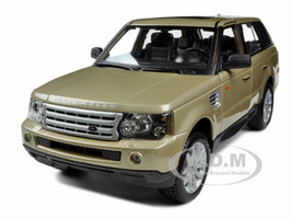 Range Rover Sport Gold 1/18 Diecast Model Car Bburago 12069