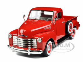 1953 Chevrolet 3100 Pickup Truck Red 1/32 Diecast Model Car Signature Models 32382