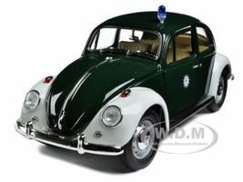 1967 Volkswagen Beetle Kafer Stuttgart Germany Police Car 1/18 Diecast Model Car Greenlight 71101