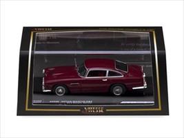 Aston Martin DB4 Dark Metallic Maroon 1/43 Diecast Model Car Vitesse 20500