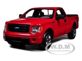 2010 Ford F-150 STX Pickup Truck Red 1/27 Diecast Model Maisto 31270