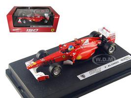 Ferrari F2011 150 Italia #5 Fernando Alonso 2011 1/43 Diecast Car Model Hotwheels W1075