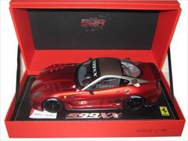 2009 Ferrari 599XX Race Version Metallic Red F1 2007/Matt Grey 1/18 Diecast Car Model  BBR P1815-2
