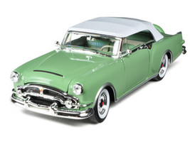1953 Packard Caribbean Soft Top Green 1/24 Diecast Car Model Welly 24016