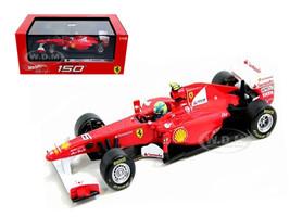 Ferrari F2011 150 Italia #6 Felipe Massa 2011 1/43 Diecast Car Model Hotwheels W1076