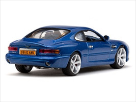 Aston Martin DB7 GT Vertigo Blue Limited Edition 1 of 785 Produced Worldwide 1/43 Diecast Model Vitesse 20675