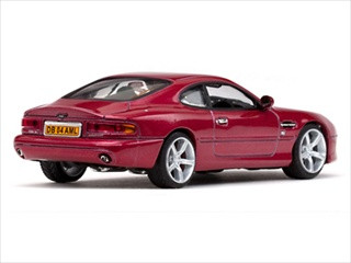Aston Martin DB7 GT Torro Red Limited Edition 1 of 768 Produced Worldwide 1/43 Diecast Model Vitesse 20676