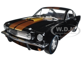 1966 Shelby Mustang GT350H Hertz Black 1/18 Diecast Model Car by Shelby Collectibles SC360