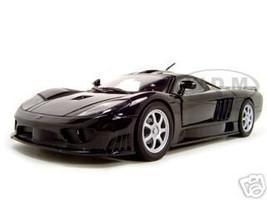 Saleen S7 Black 1/18 Diecast Model Car Motormax 73117