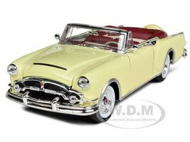 1953 Packard Caribbean Convertible Cream 1/24 Diecast Car Model Welly 24016