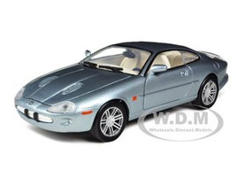 2002 Jaguar XKR Grey 1/24 Diecast Car Model Motormax 73339
