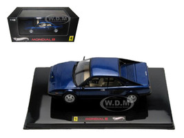 Ferrari Mondial 8 Blue Elite Edition Limited Edition 1 of 5000 Produced Worldwide 1/43 Diecast Model Car Hotwheels V8373