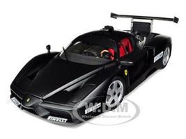 "2003 Ferrari Enzo Monza Test Car Matt Black ""Pirelli"" 1/18 Diecast Car Model BBR 180023"