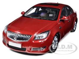 2010 Buick Regal 2.4L Red Jewel Tintcoat 1/18 Diecast Car Model Suntrade 1060