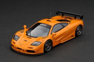 mclaren f1 gtr plain body version orange 1/43 diecast model car