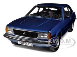 Opel Ascona B SR Metallic Blue 1/18 Diecast Car Model Sunstar 5383