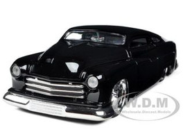 1951 Mercury Black With KMC Wheels 1/24 Diecast Model Car Jada 96474
