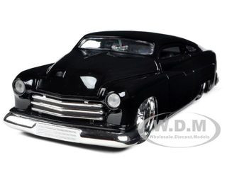 1951 Mercury Black With KMC Wheels 1/24 Diecast Model Car Jada 96474