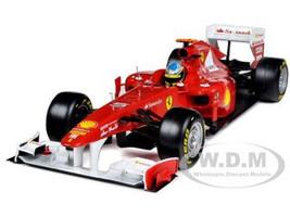 Ferrari 150 Italia F2011 Fernando Alonso 1/18 Diecast Car Model Hotwheels W1073