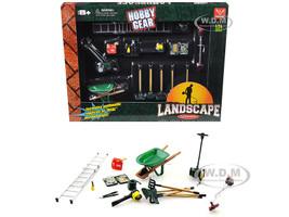 Landscape Service Accessories Set 1/24 Scale Models Phoenix Toys 18432