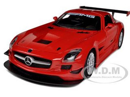 Mercedes SLS AMG GT3 Red 1/24 Diecast Car Model Motormax 73356