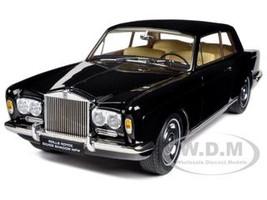 1968 Rolls Royce Silver Shadow Black 1/18 Diecast Car Model by Paragon Models