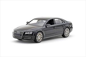 Audi A8 Black 1/43 Diecast Car Model by Kyosho