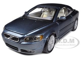 Volvo C70 Coupe Blue 1/24 Diecast Car Model Bburago 22100